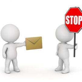 5 conseils pour éviter de recevoir du spam (emails publicitaires)